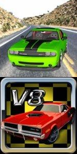 v8 muscle cars games - gogy